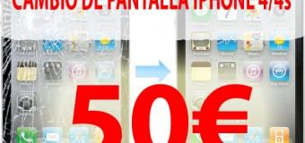 Cambiar Pantalla iPhone en Albacete